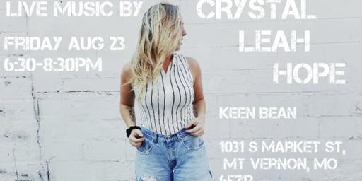 Crystal Leah Hope  Rocks the Bean