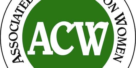 September ACW Meeting tickets