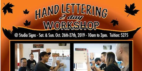 Hand Lettering Workshop - Sign Painting 101 tickets