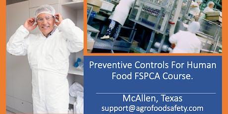 FSPCA Preventive Controls for Human Food -McAllen, TX October 1-2  tickets