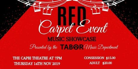Tabor Music Showcase 2019 tickets