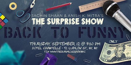 The Surprise Show's BACK TO FUNNY tickets