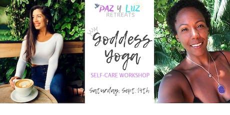 Goddess Yoga - Self Care Workshop tickets