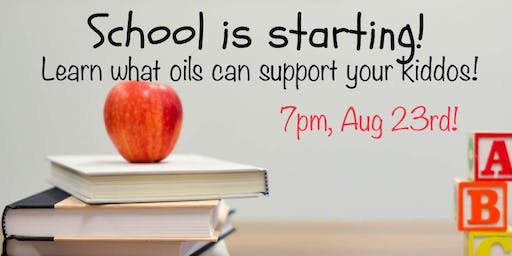 Doterra Back to School Make and Take
