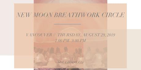 NEW MOON BREATHWORK CIRCLE tickets