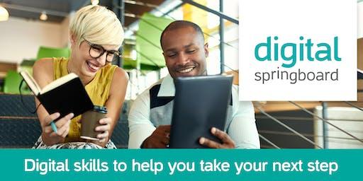 Digital Springboard: Social media strategy