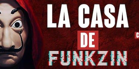 LA CASA de FUNKZIN no Complexos Armazém - 13 de Setembro ingressos