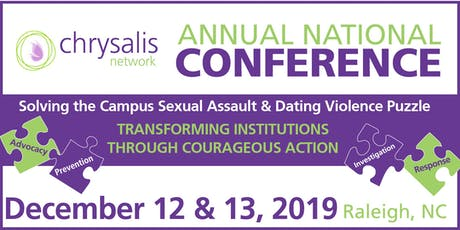 Solving the Campus Sexual Assault & Dating Violence Puzzle: Transforming Institutions Through Courageous Action tickets