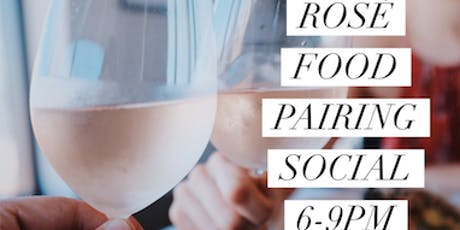 Rosé Food Pairing Social tickets