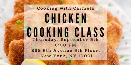 Chicken Cooking Class tickets