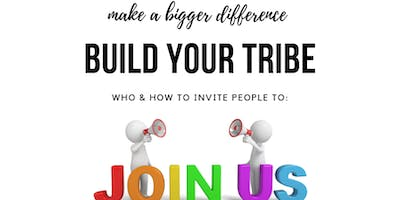 Find your Tribe Training 16th September, 2019 1pm-2pm