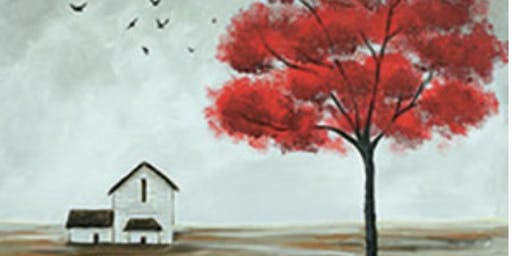Paint with Art U - The Red Tree