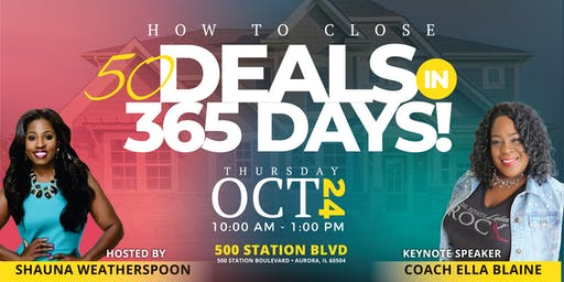 50 Deals in 365 Days Agent Mastermind with Coach Ella Blaine