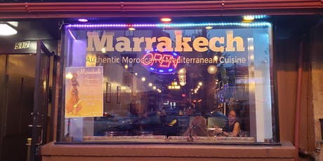 Moroccan evening with Belly dancing and International Happy hour tickets