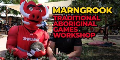 Marngrook | Traditional Aboriginal Football Workshop tickets