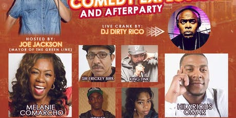 LLS Satur-DAY COMEDY EXPLOSION & AFTER PARTY tickets