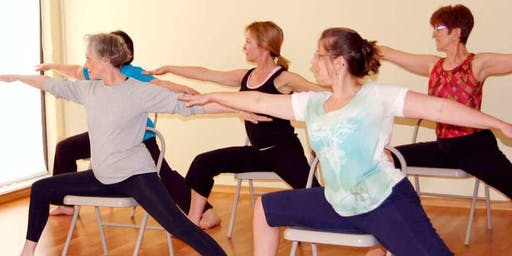 Chair Yoga Classes – A Taster Session