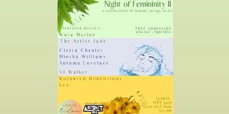 Night of Femininity tickets