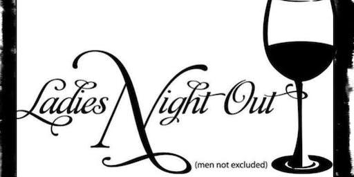 Wine N Dine Ladies Night.