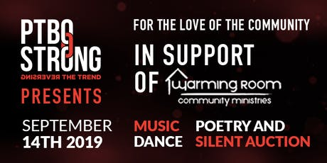 """For the Love of Community"" for Warming Room Community Ministries tickets"