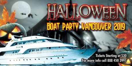 Halloween Boat Party Vancouver 2019 tickets