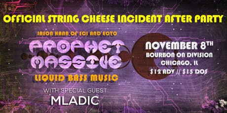 String Cheese Incident Official After Party - Prophet Massive tickets