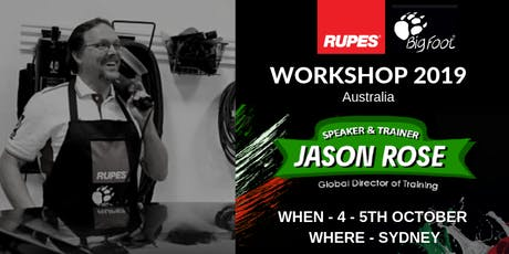 RUPES BigFoot Workshop with Jason Rose  tickets