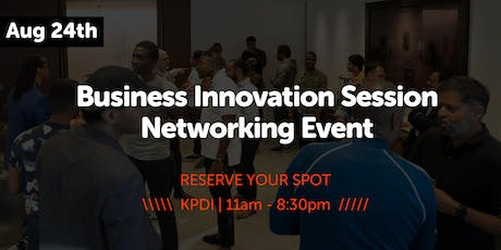 KPDI Ventures | Black-Matter | Business Innovation Session & Network Launch tickets