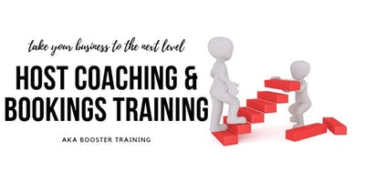 Host Coaching & Bookings Training 16th September, 2019 730pm-830pm