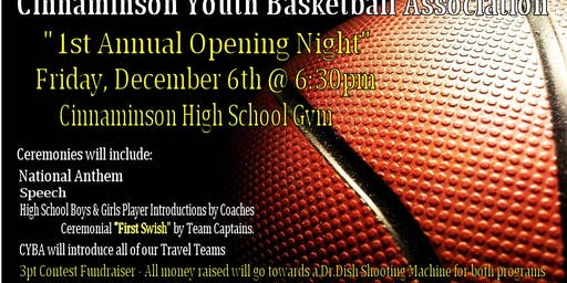 CYBA Opening Night - 3Point Contest Fundraiser