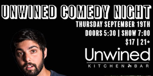Unwined Comedy Night w/ Neel Nanda