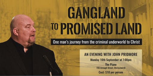 John Pridmore - From Gangland to Promised land
