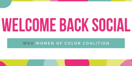 Women of Color Coalition Welcome Back Social tickets