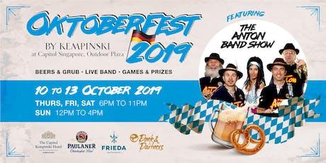 Oktoberfest by Kempinski 2019 tickets