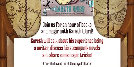 Children's Author Talk | An Hour of Books and Magic with Gareth Ward