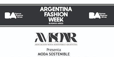 "Desfile ""MODA SOSTENIBLE"" Argentina Fashion Week ."