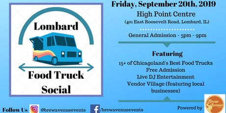 Lombard Food Truck Social tickets