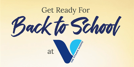 Back to School at The Vitamin Shoppe with Spike Consulting college planning tickets