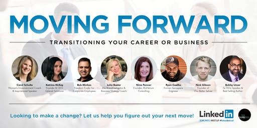 Toronto Linkedin Local - Moving Forward: Transitioning Your Career/Business