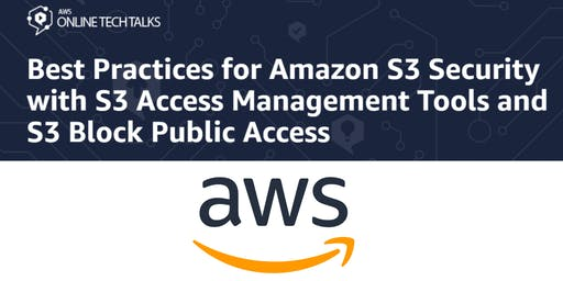 Best Practices for Amazon S3 Security