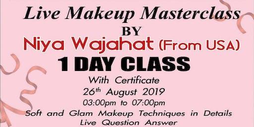 Live Makeup Masterclass by American Makeup Artist