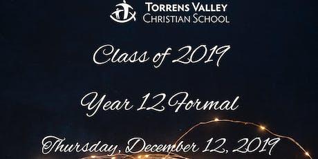 Year 12 Formal tickets
