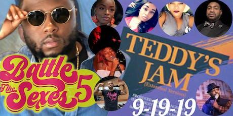 Battle of the Sexes 5: Teddy's Jam tickets