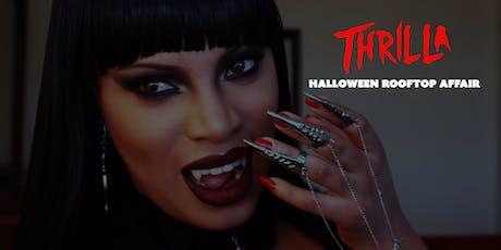 Thrilla Halloween Rooftop Affair tickets