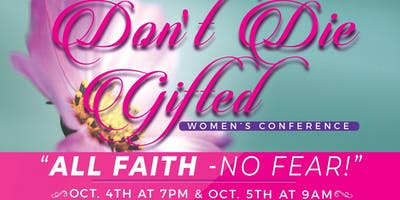 2019 Don't Die Gifted Women's Conference
