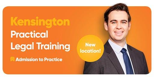 Practical Legal Training in Kensington   Information Session