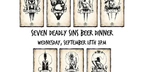 Seven Deadly Sins Beer Dinner tickets