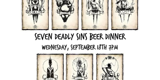 Seven Deadly Sins Beer Dinner