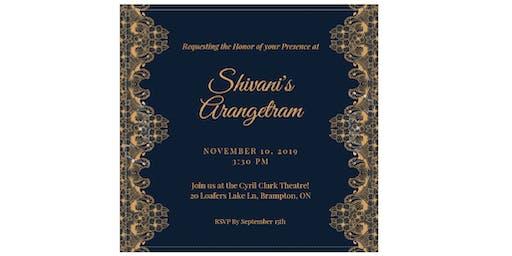 Shivani's Arangetram