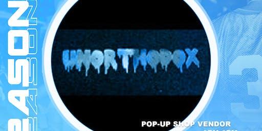 Unorthodox Pop Up Shop